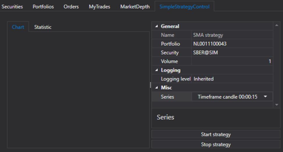 Пишем торговых роботов с помощью графического фреймворка StockSharp. Часть 2 - 5