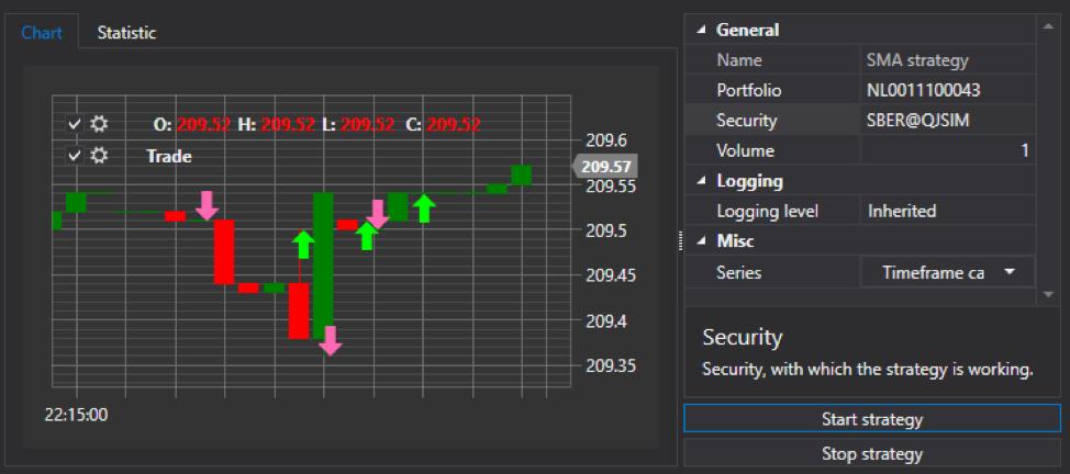 Пишем торговых роботов с помощью графического фреймворка StockSharp. Часть 2 - 7