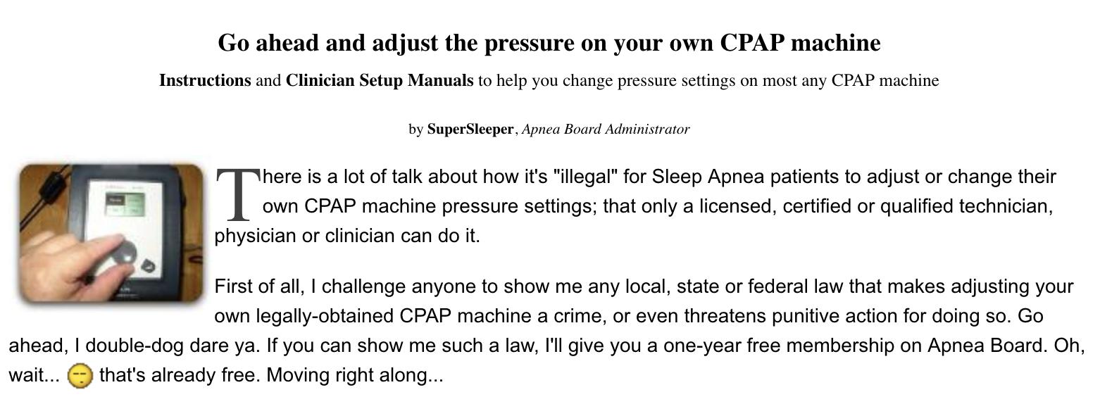 Возможно, я жива только из-за неё: почему пациенты с апноэ полагаются на программу, написанную хакером - 6