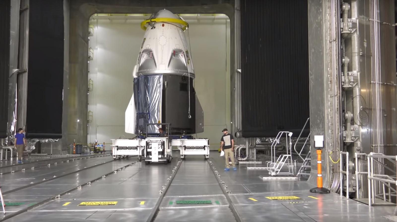 SpaceX и NASA вновь подтверждают свои намерения произвести дебютный запуск корабля Crew Dragon в январе 2019 года - 1