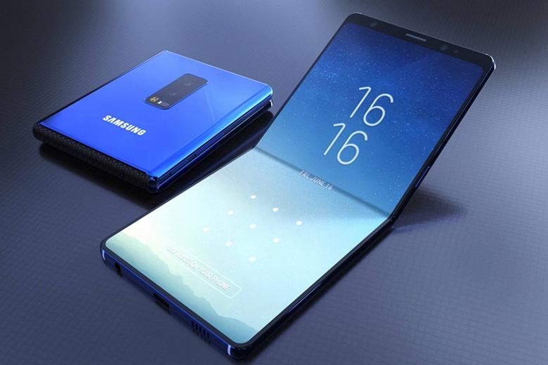 Гибкий смартфон Samsung Galaxy F получит два аккумулятора суммарной ёмкостью 5000-6000 мА·ч