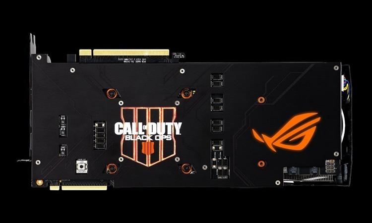 Поклонникам Call of Duty: Black Ops 4 посвящается: видеокарта ASUS ROG Strix RTX 2080 Ti OC