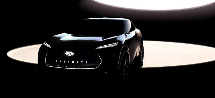 Infiniti покажет свой первый электрический кроссовер в январе