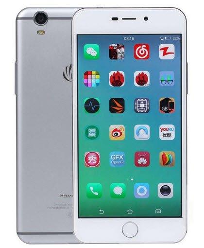Дешевый смартфон Homecare V8 вызывает ассоциации с iPhone 7