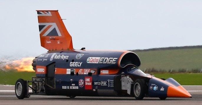 Проект самого быстрого автомобиля в мире спасли