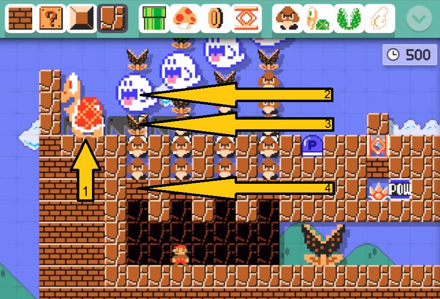 Возможно ли загрузить непроходимый уровень в Super Mario Maker? - 2