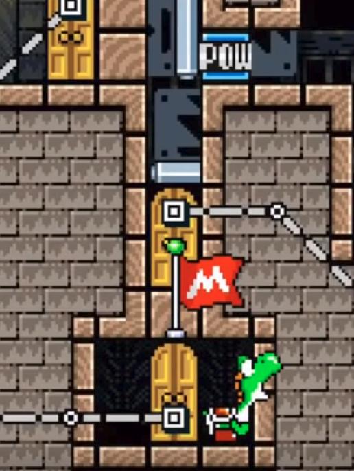 Возможно ли загрузить непроходимый уровень в Super Mario Maker? - 3