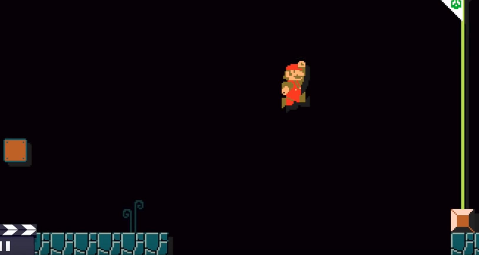 Возможно ли загрузить непроходимый уровень в Super Mario Maker? - 7