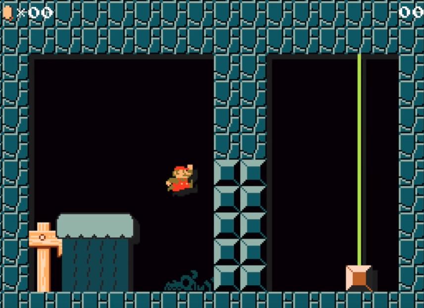 Возможно ли загрузить непроходимый уровень в Super Mario Maker? - 1