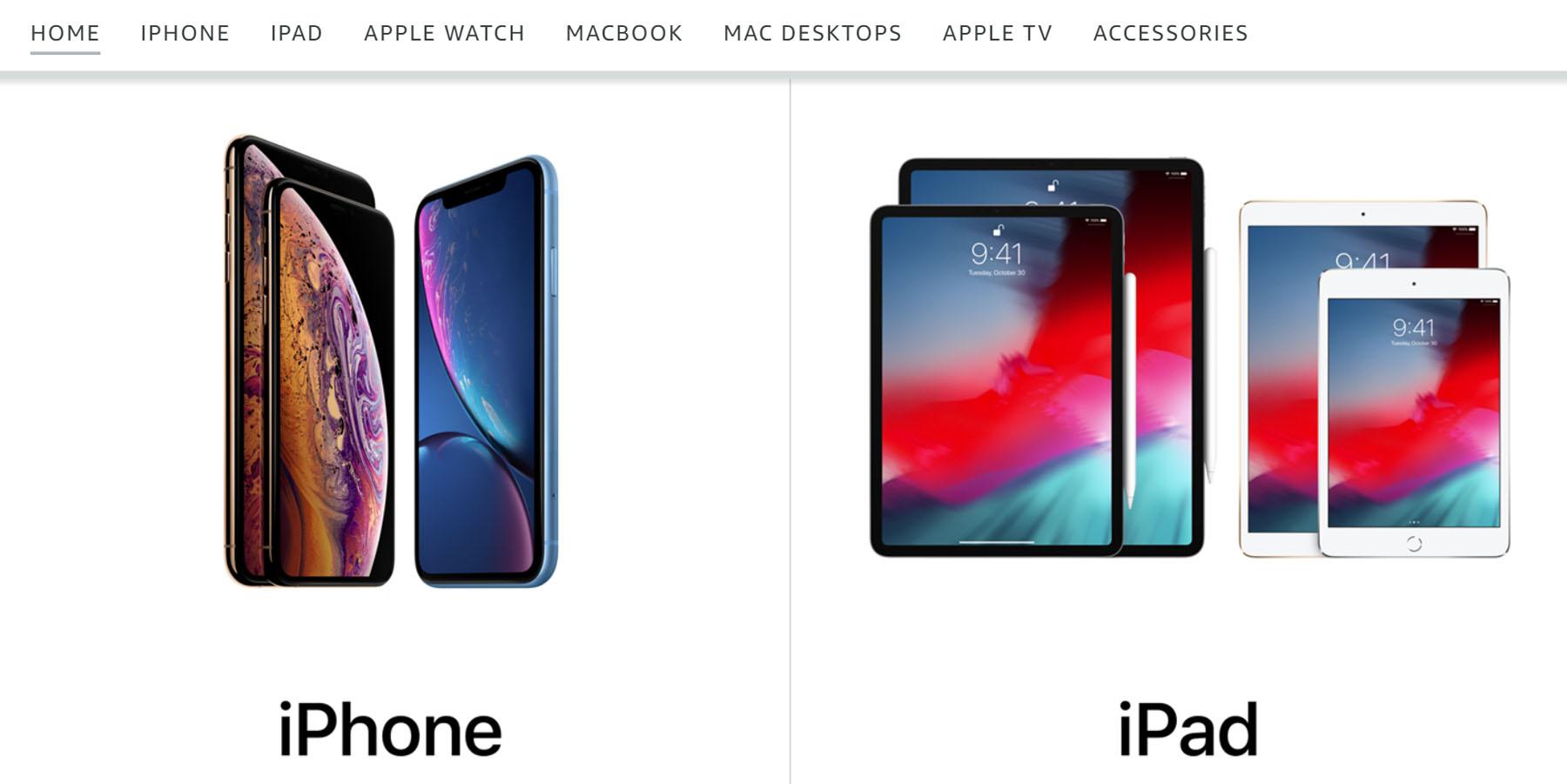 Amazon начинает напрямую продавать продукты Apple на своем веб-сайте - 2