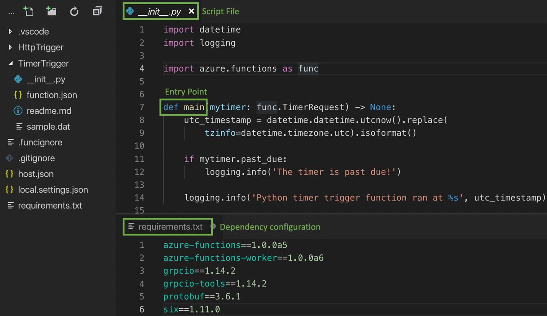 Поддержка Python в Azure Functions - 2