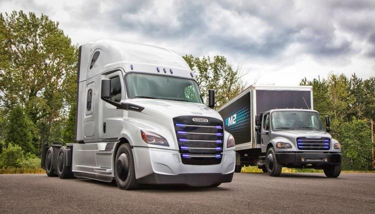 Daimler испытает электрические грузовики на Западном побережье США