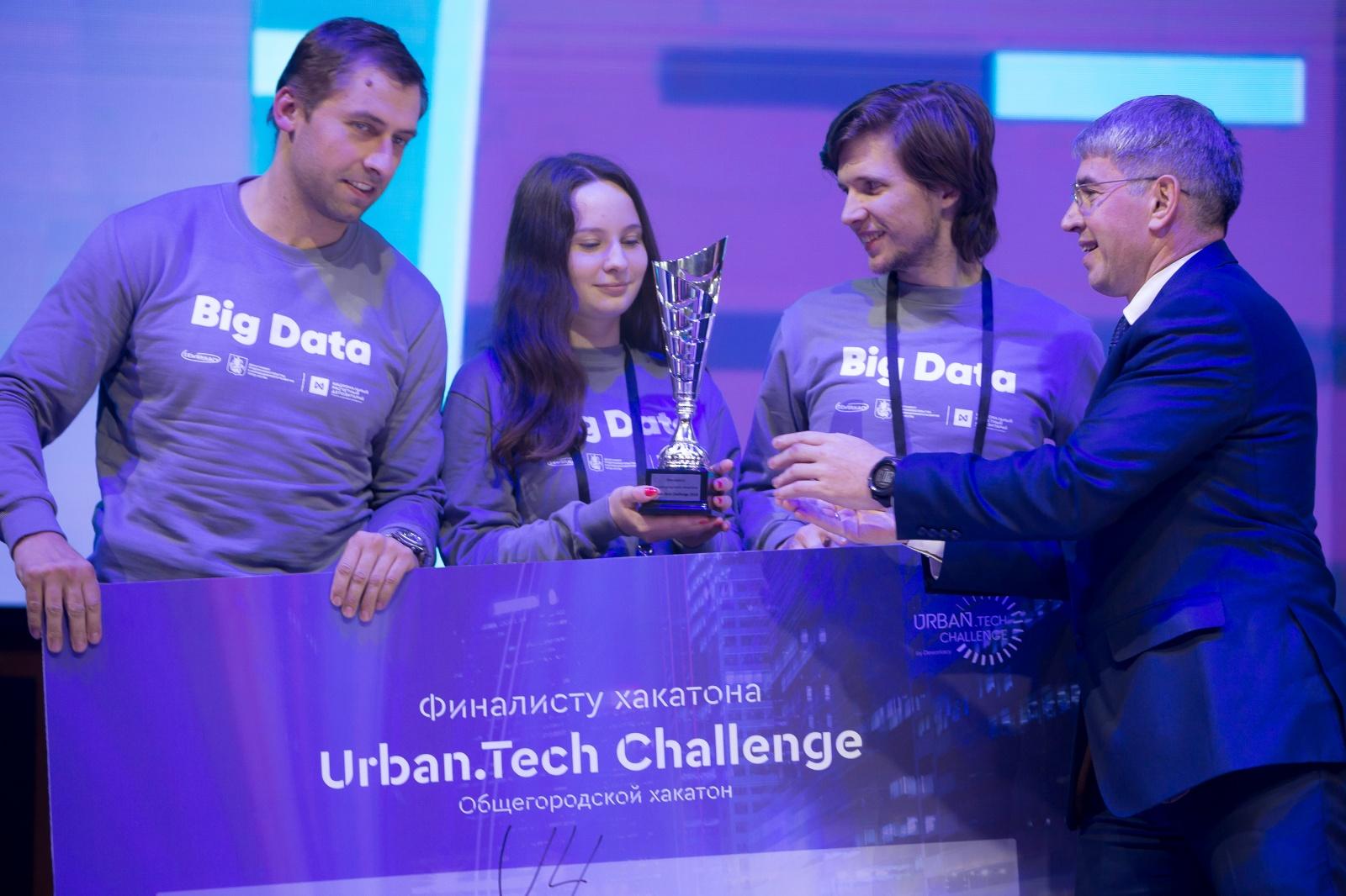 Как и почему мы выиграли трек Big Data на хакатоне Urban Tech Challenge - 3