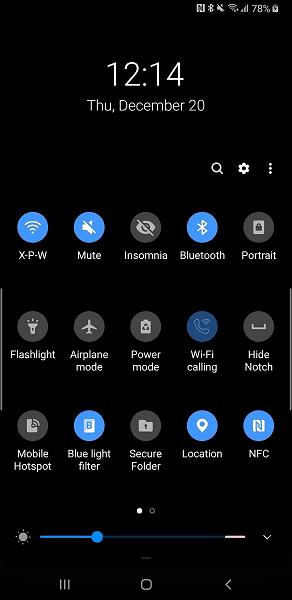 Оболочка One UI на Samsung Galaxy Note8: первый взгляд