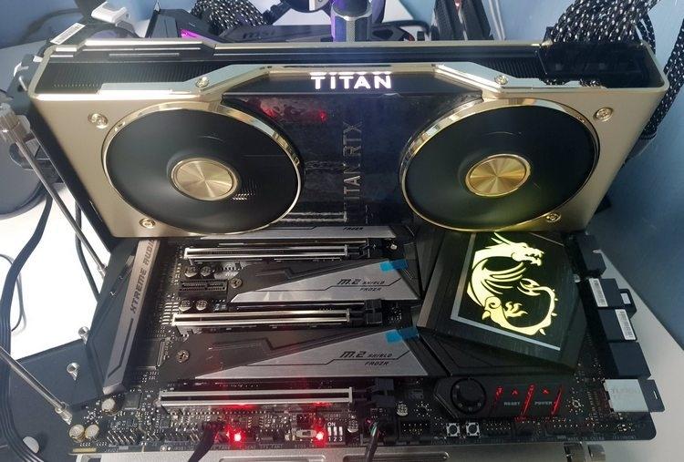 Разогнанная NVIDIA Titan RTX смогла набрать более 41 000 баллов в 3DMark Fire Strike