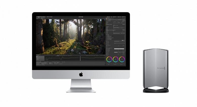 В продажу поступила самая дорогая внешняя видеокарта Blackmagic для компьютеров Apple Mac