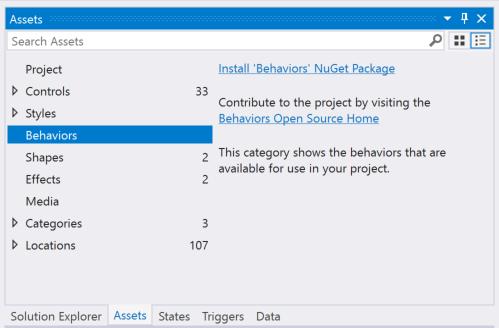 XAML Behaviors для WPF теперь Open Source - 3
