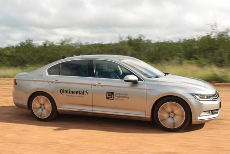 В испытаниях шин Continental помогут беспилотные автомобили