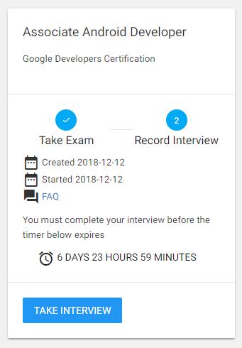 Получаем сертификат Google Associate Android Developer - 4