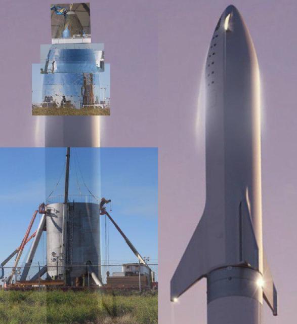Техническая презентация нового космического корабля Starship-BFS от SpaceX планируется в марте-апреле 2019-го года - 1