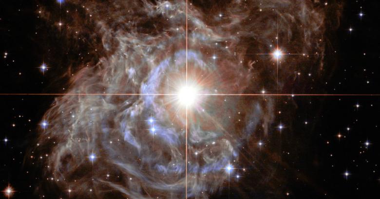 Потрясающая фотография далекой туманности: новогодний подарок от «Хаббла»