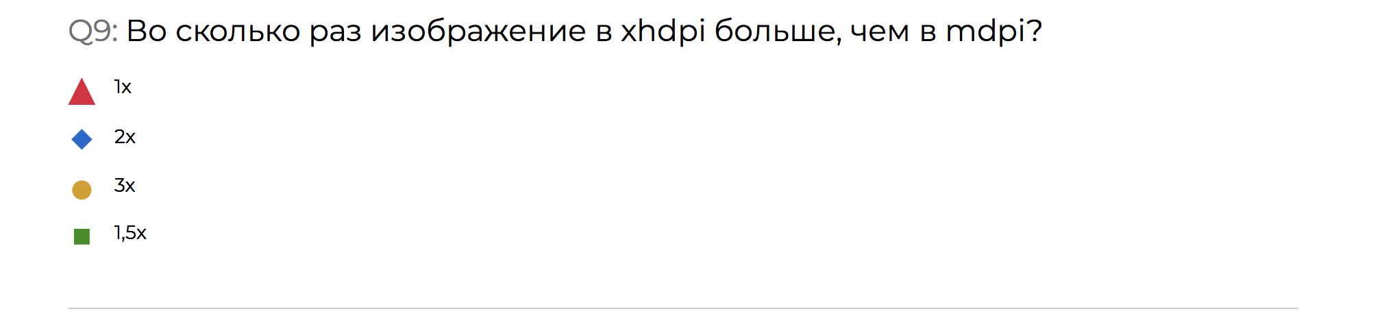 Разбор конкурса-квиза по Android со стенда HeadHunter на Mobius 2018 Moscow - 19