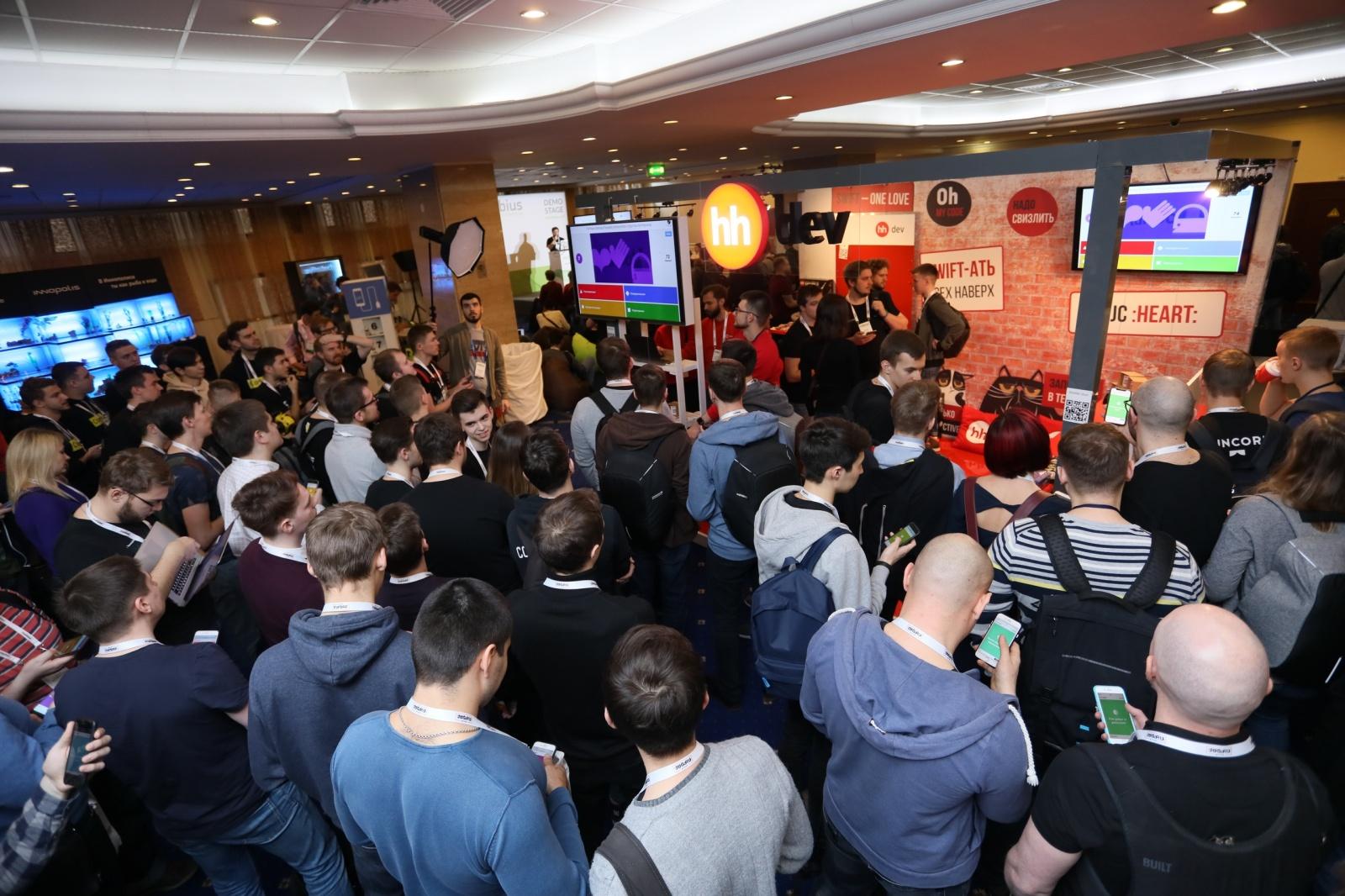 Разбор конкурса-квиза по Android со стенда HeadHunter на Mobius 2018 Moscow - 1
