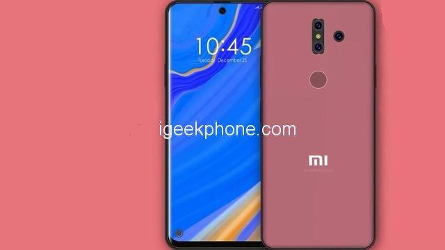 Так может выглядеть флагманский смартфон Xiaomi Mi Mix 4