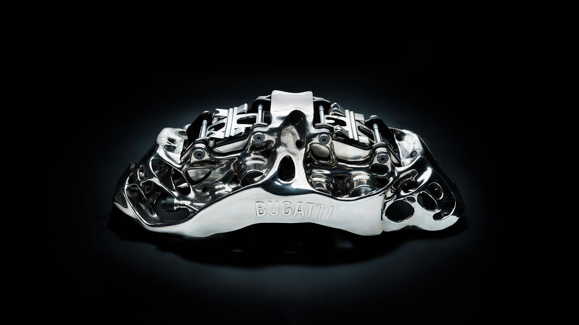 В Bugatti Automobiles успешно испытали напечатанный на 3D принтере тормозной суппорт - 1