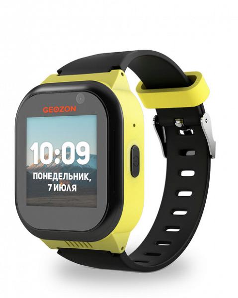 В России выходят первые детские умные часы Geozon LTE на Android 7.0