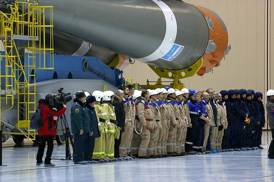 Вывоз ракеты перед стартом на Восточном - 11