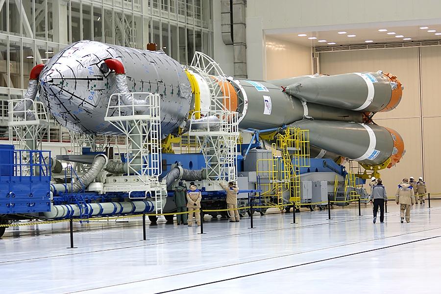 Вывоз ракеты перед стартом на Восточном - 3