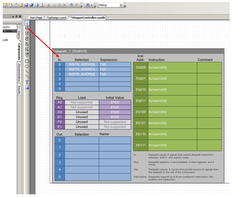 Использование блоков UDB контроллеров PSoC фирмы Cypress для уменьшения числа прерываний в 3D-принтере - 11
