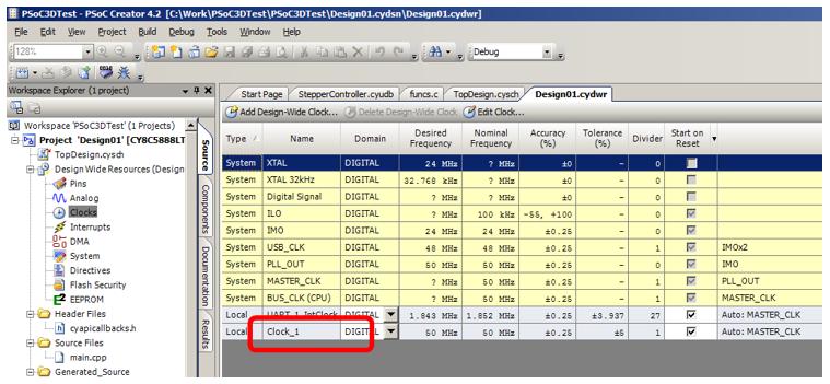 Использование блоков UDB контроллеров PSoC фирмы Cypress для уменьшения числа прерываний в 3D-принтере - 42