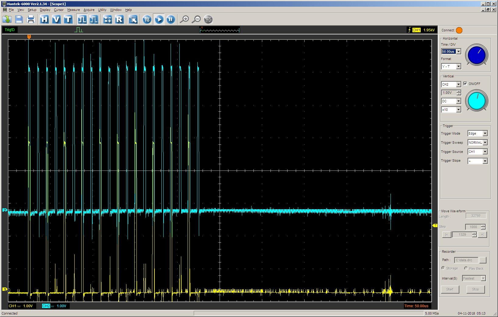 Использование блоков UDB контроллеров PSoC фирмы Cypress для уменьшения числа прерываний в 3D-принтере - 47