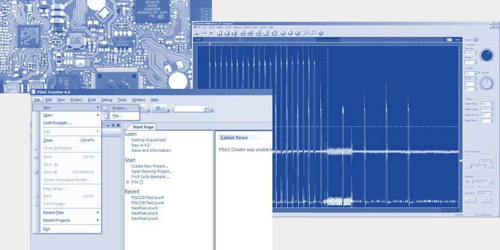 Использование блоков UDB контроллеров PSoC фирмы Cypress для уменьшения числа прерываний в 3D-принтере - 1