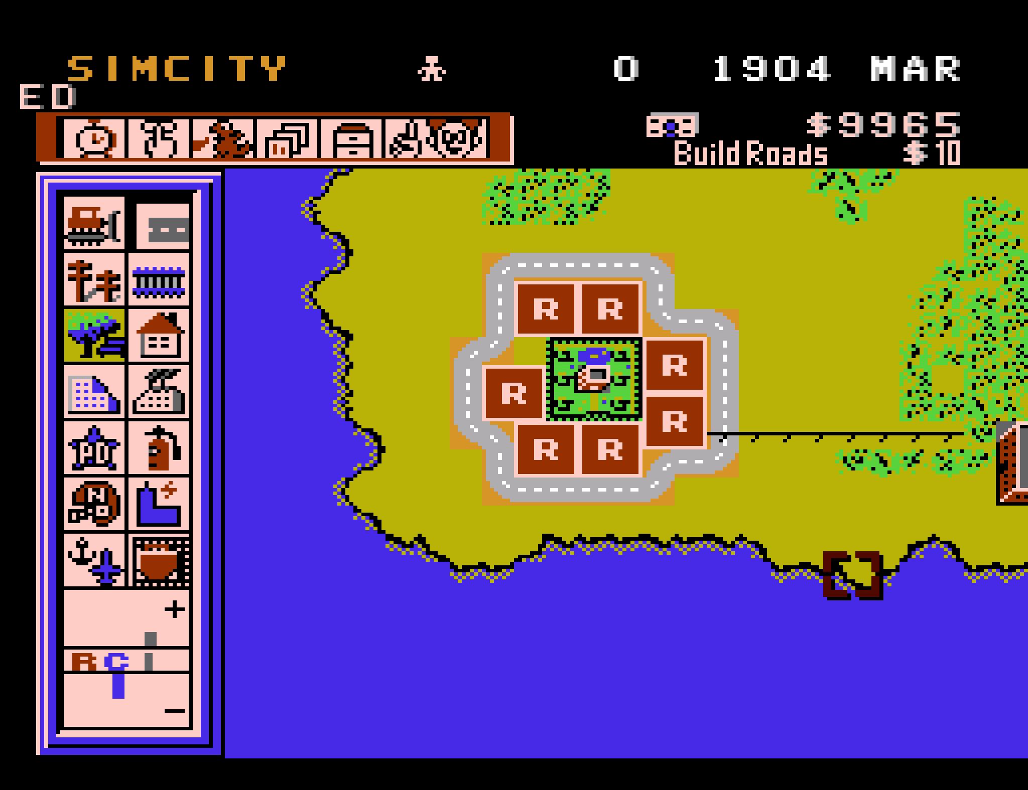 Как «цифровые археологи» обнаружили утерянную версию SimCity для NES и восстановили ее - 5