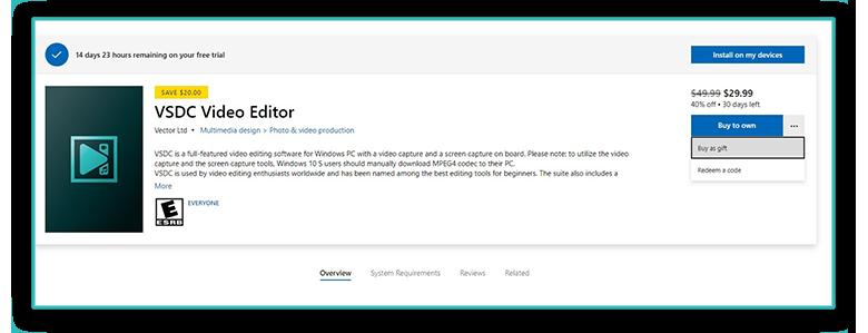 Опыт публикации приложения по видеоредактированию в Microsoft Store - 6