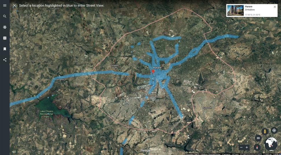 Патриот Зимбабве потратил $5000, чтобы оцифровать родную страну на Google Street View - 3
