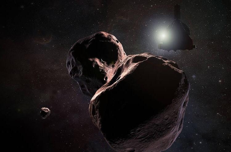 Станция New Horizons начинает сближение с объектом из пояса Койпера