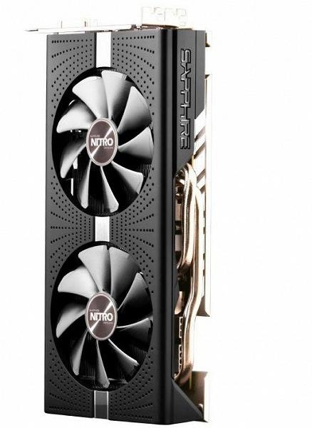 3D-карта Sapphire Radeon RX 590 Nitro+ OC очень похожа на модель Sapphire Radeon RX 590 Nitro+ Special Edition
