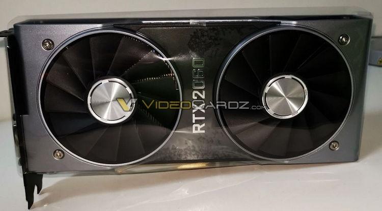 NVIDIA не смогла сохранить в секрете внешний вид GeForce RTX 2060 Founders Edition