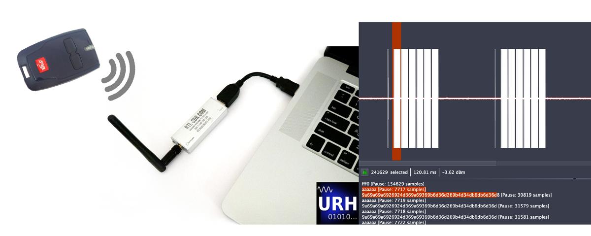 Universal Radio Hacker — легкий способ исследовать цифровые радиопротоколы - 1