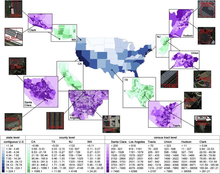 Нейросеть научили обнаруживать солнечные панели на спутниковых снимках и предсказывать уровень их распространения - 4
