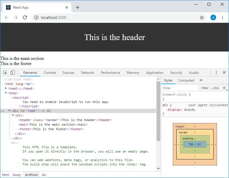 Учебный курс по React, часть 5: начало работы над TODO-приложением, основы стилизации - 9