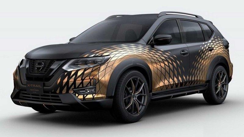 Nissan построил новый гусеничный Juke
