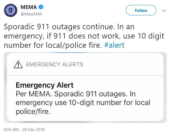 Авария в Дата-центре CenturyLink вызвала перебои в работе службы 911 - 3