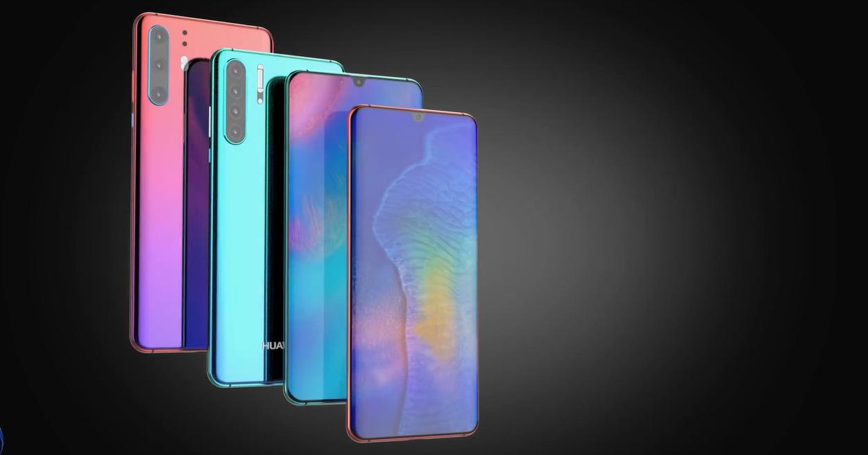 Флагманские Huawei P30 представили в концептуальном видео