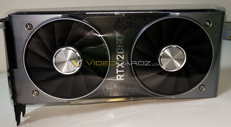 Фото дня: референсный вариант 3D-карты Nvidia GeForce RTX 2060