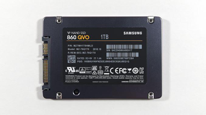 Samsung SSD 860 QVO 1 ТB и 4 ТB: первый потребительский SATA QLC (1 часть) - 3